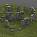 Stonehenge (for Wavefront OBJ)