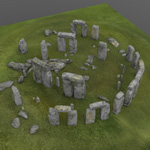 Stonehenge (for Poser)