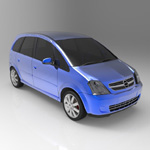 Chevrolet Meriva 2003 (for Wavefront OBJ)