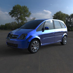Click to see information about the 'Chevrolet Meriva 2003 (for Wavefront OBJ)'.