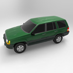 Jeep Grand Cherokee 94 (for Wavefront OBJ)