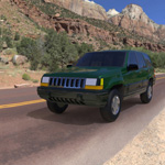 Click to see information about the 'Jeep Grand Cherokee 94 (for Wavefront OBJ)'.