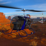 Bell 47G Helicopter (for Poser)