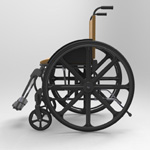 Wheelchair (for Poser)