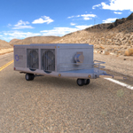 Aircraft Air Conditioning Unit Truck (for Poser)