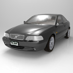 Volvo C70 (for Poser)