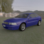 Click to see information about the 'Volvo C70 (for Poser)'.
