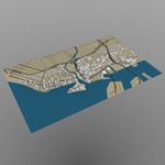 Click to see information about the 'Miami Cityscape (for Wavefront OBJ)'.