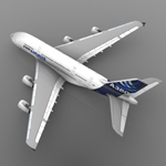 Airbus A380 (for Wavefront OBJ)