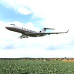 Click to see information about the 'Bombardier BD-700 (for Vue)'.