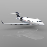 Bombardier Challenger 300 (for Vue)
