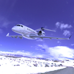 Click to see information about the 'Bombardier Challenger 300 (for Wavefront OBJ)'.
