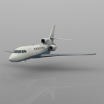 Dassault Falcon 50 (for Wavefront OBJ)