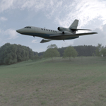 Click to see information about the 'Dassault Falcon 50 (for Vue)'.