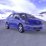 Click to see information about the 'Toyota Yaris (for Poser)'.