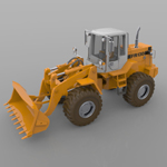 Fiat-Allis Loader FR 130 (for Poser)