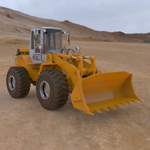 Click to see information about the 'Fiat-Allis Loader FR 130 (for Poser)'.