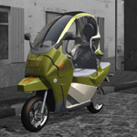 C1 Personal Scooter (for Poser)