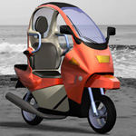 Click to see information about the 'C1 Personal Scooter (for Poser)'.