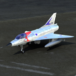 Mirage IIIC (for Poser)