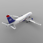 Airbus A-320 (for Wavefront OBJ)