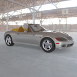 BMW Z3 (for Wavefront OBJ)