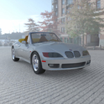 Click to see information about the 'BMW Z3 (for Wavefront OBJ)'.