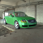 Audi TT 2001 (for Wavefront OBJ)