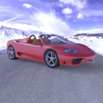 Click to see information about the 'Ferrari 360 Spider 2000 (for Wavefront OBJ)'.