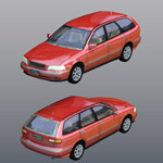 Click to see information about the 'Volvo V40 2000 (for Poser)'.