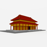 Click to see information about the 'Chinese Style Building (for Wavefront OBJ)'.