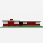 Usonian House (for Wavefront OBJ)