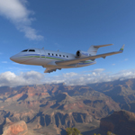 Click to see information about the 'Bombardier Challenger 604 (for Wavefront OBJ)'.