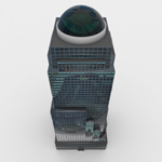 Two World Trade Center Building (for Wavefront OBJ)
