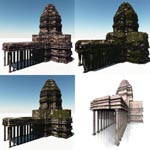 Angkor Temple (for Wavefront OBJ)
