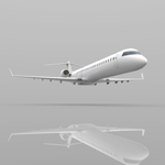 Bombardier CRJ-705 (for Wavefront OBJ)