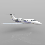 Cessna Citation CJ4 (for Wavefront OBJ)