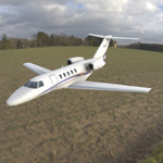Click to see information about the 'Cessna Citation CJ4 (for Vue)'.