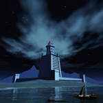 Pharaoh`s Lighthouse (for iClone)