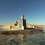 Pharaoh`s Lighthouse (for Wavefront OBJ)