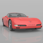 Chevrolet Corvette 2003 (for Poser)