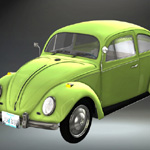 Volkswagen Beetle (for iClone)
