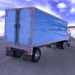 Truck with Trailer (for Wavefront OBJ)