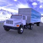 Click to see information about the 'Truck with Trailer (for Wavefront OBJ)'.