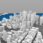 Lower Manhattan Cityscape (for Wavefront OBJ)