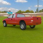 Dodge Dakota Ext Cab Pickup (for Wavefront OBJ)