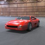 Ferrari Testarossa 1992 (for Wavefront OBJ)