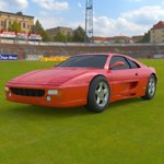 Click to see information about the 'Ferrari Testarossa 1992 (for Wavefront OBJ)'.