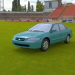 Click to see information about the 'Honda Accord 1998 (for Wavefront OBJ)'.