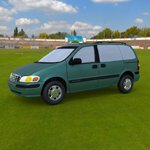 Chevy Venture 1998 (for Wavefront OBJ)